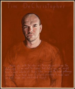 By Robert Shetterly http://www.americanswhotellthetruth.org/portraits/tim-dechristopher